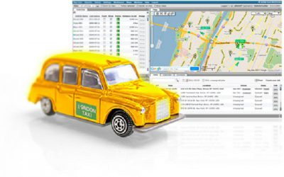 GPS Vehicle Tracker for Taxi